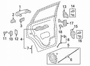 Chevrolet Captiva Sport Lock  Latch  Actuator   Rear
