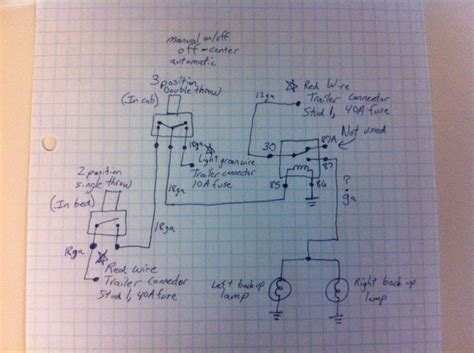 International 4300 Wiring Diagram Backup Light by Silveradosierra Would This Wiring Diagram Work