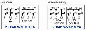 Wiring Diagram 6 Lead 3 Phase 480 Volt Motor