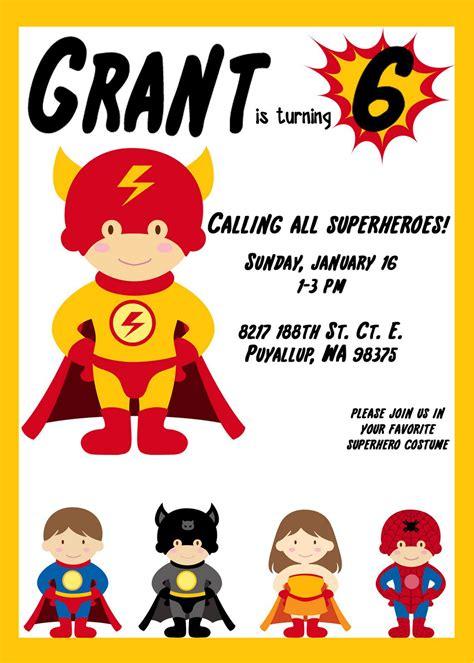 printable superman invitations