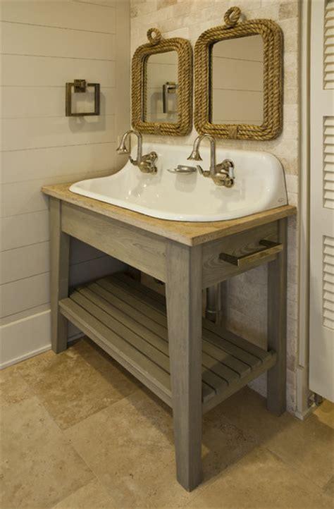 Seagrass Coastal  Tropical  Bathroom  Charleston By