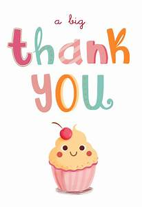 A Big Thank You - Free Birthday Thank You Card | Greetings ...