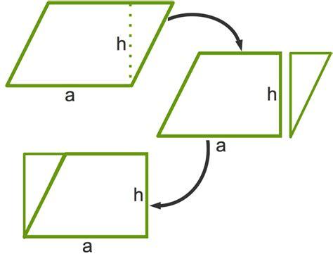 flaecheninhalt und umfang von parallelogrammen berechnen