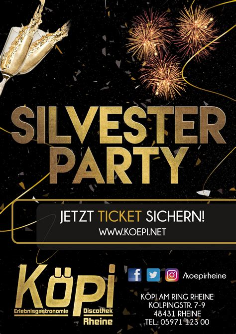 silvester party koepi  ring rheine