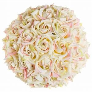 Boule De Rose : boule de roses 25cm rose ~ Teatrodelosmanantiales.com Idées de Décoration