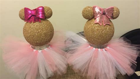 Diy Dollar Tree Minnie Mouse Centerpiece Easy Kitchen Counter Makeover Contemporary Small Kitchens Galley Renovation Ideas Rustic Modern Design With Island Pictures Bhg Makeovers Cabinet Knobs