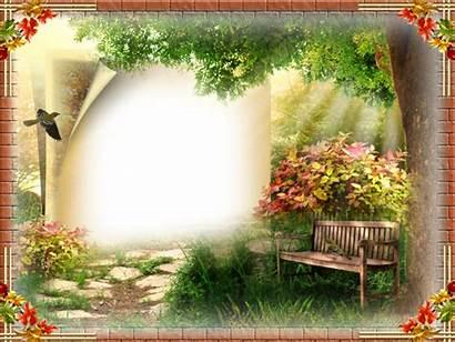 Nature Frame Cadre Autumn Frames Cadres Photoshop