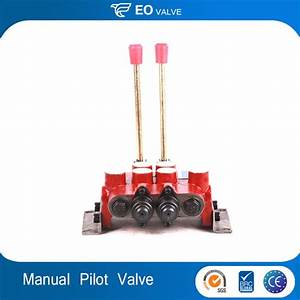 China Hydraulic Pilot Flow Manual Control Valve