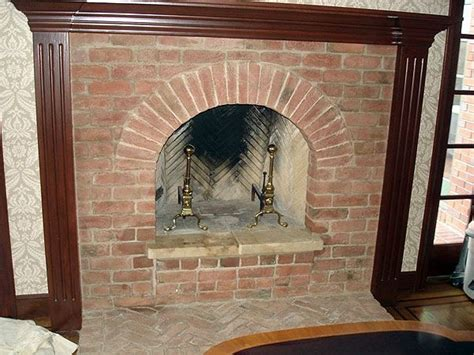 French Colonial Kitchen by 1937 Year Old Brick Fireplaces Old Carolina Brick