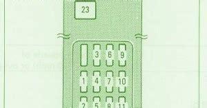 toyota fuse box diagrams fuse box toyota  corolla