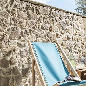 Plaquette De Parement Exterieur Pas Cher : plaquette de parement b ton beige nuanc easyblock florac ~ Dailycaller-alerts.com Idées de Décoration