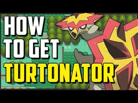 How To Get Turtonator In Pokemon Sun And Moon Youtube