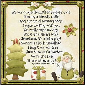Co-Worker Snowf... Holiday Coworker Quotes