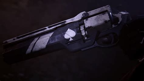 ace  spades hand cannon  destiny