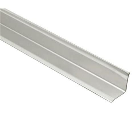schluter eck ki brushed stainless steel 9 16 in x 6 ft 7