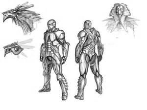 Cool Made Up Superhero Drawings
