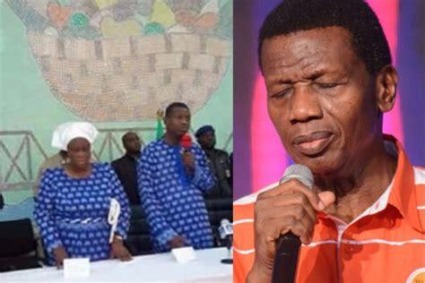 Ọ̀rọ̀ leke adeboye, aburo oloogbe. 'I wept when I saw people weeping in Benue' - Pastor Adeboye