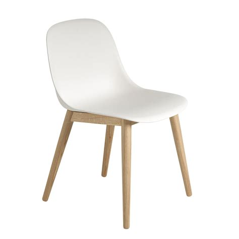 chaise muuto the fiber side chair wood by muuto