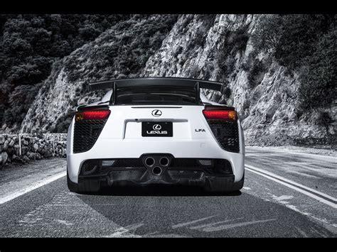 2013 Lexus Lfa Nurburgring Edition White Static Rear