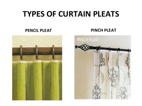 types of curtain pleats pictures to pin on