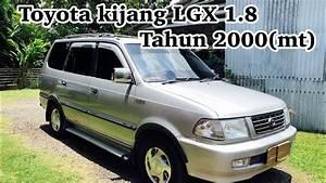 Toyota Kijang Lgx 1 8