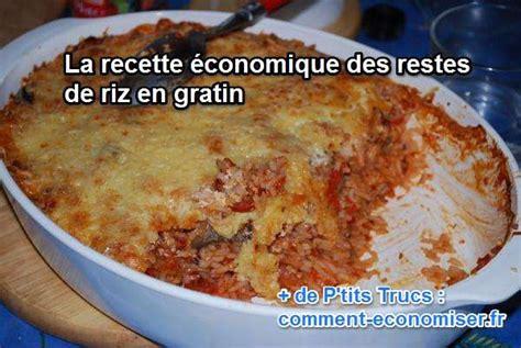 comment cuisiner les galettes de riz recette économique les restes de riz en gratin