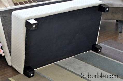 how to upholster an ottoman the no sew way to recover an ottoman suburble