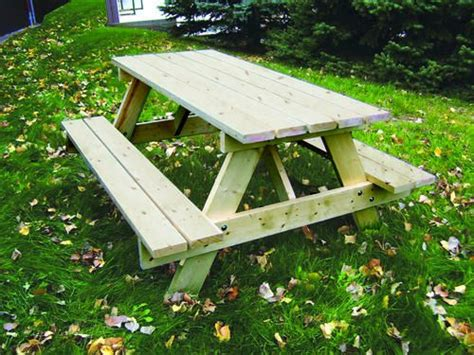 6 classic picnic table kit at menards for the home