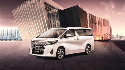 Toyota Alphard Backgrounds by Toyota Alphard Mpv Travel In Style