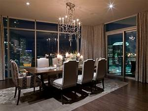 Austonian Luxury Condo - Contemporary - Dining Room ...