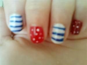 Nautical Nails · How To Paint A Stripy Nail · Nail ...