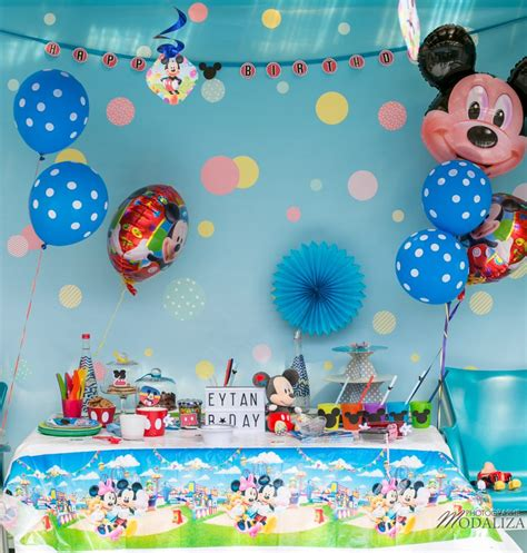 inspiration anniversaire mickey diy mon blog modaliza