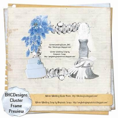 Winter Cluster Frame Ftu Bkc Designs