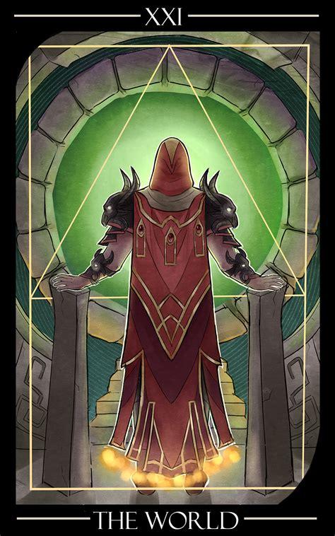 [Fanart] XXI The World - Runescape style tarot card (The ...