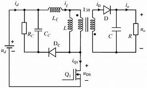 Dissipative Rcd Clamp Circuit In Fly