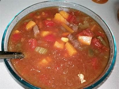 Soup Beef Vegetable Korger November