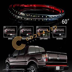 60 U0026quot  Truck Tailgate Led Light Strip With Running