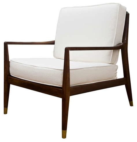 mid century modern club chair modern living