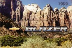 1999 Chevrolet Blazer Owners Manual User Guide Reference