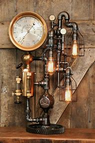 Industrial Steampunk Lighting