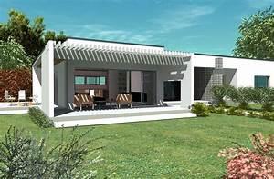 plan maison contemporaine bc 2 161m2 With plan de maison moderne 12 maison moderne darchitecte construite par guemas
