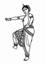 Coloriage Danse Inde Indienne Coloring Bollywood Une Dessin Dance India Colorier Ausmalbilder Coloriages Indian Danseuse Dancing Hugolescargot Sur Drawings Disegno sketch template