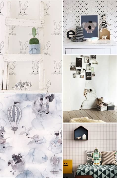 Ebabee Likessimple And Striking Wallpapers For Kids Rooms