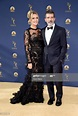 Nicole Kimpel and Antonio Banderas attend the 70th Emmy ...
