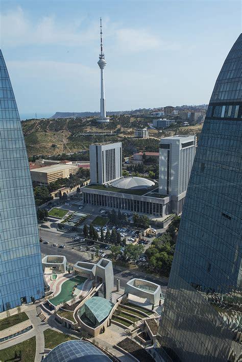 | azerbaijan's capital baku (or bakä± in azeri) is the architectural love child of paris and dubai…albeit with plenty of soviet genes. Gallery of Baku Flame Towers / HOK - 4