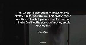 Real Wealth Is Discretionary Time  Money