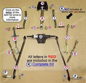 Three Point Hitch  Yanmar Tractor Parts
