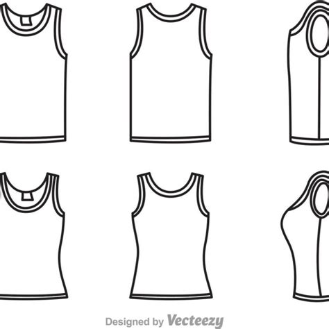 tank top template template oasis fashion