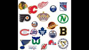 The History of NHL Logos (Updated for 2017-18) - YouTube