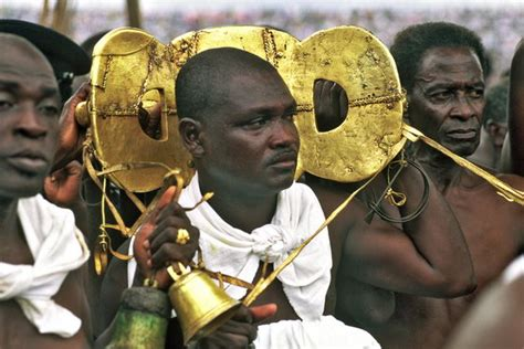 The Ashanti Golden Stool - okomfo anokye the great prophet and co founder of